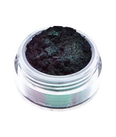 Dragon mineral eyeshadow Magical black double duochrome eyeshadow with green and violet shimmers. 7,90 €