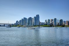 False Creek and Downtown by mschroeter140, via Flickr
