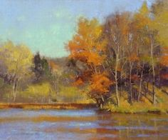 Glorious Fall by Marc Hanson Pastel ~ 10 x 12