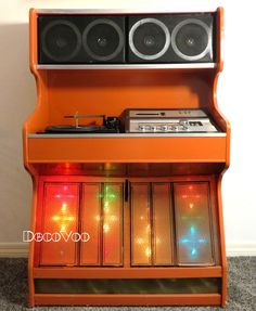 Cutting Edge At The Time With Both An 8 Track Tape Player