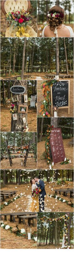 South Jersey Wedding - A Garden Party Florist - Running Deer Golf Club - Your Day Your Way - Samantha Jay Photo - fall wedding - outdoor wedding - woodland wedding
