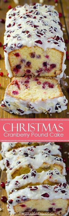 Cranberry Pound Cake Thinking about Christmas recipes ? You simply have to try this heavenly Christmas Cranberry Pound Cake!Thinking about Christmas recipes ? You simply have to try this heavenly Christmas Cranberry Pound Cake! Christmas Cooking, Christmas Desserts, Christmas Treats, Christmas Cakes, Christmas Foods, Holiday Foods, Christmas Brunch, Christmas Chocolate, Christmas Drinks