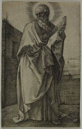 Albrecht Dürer German, 1471-1528  St. Paul, 1514  Engraving on ivory laid paper