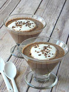 Chocolate chia pudding