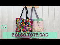 Cómo hacer un bolso de tela - YouTube Diy Pouch Bag, Tote Bag, Denim Bag Patterns, Homemade Bags, Crochet Shoulder Bags, Design Blog, Heirloom Sewing, Crochet Bags, Small Bags