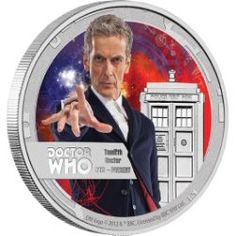 Doctor Who – Twelfth Doctor 2015 1/2oz Silver Proof Coin