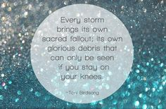 Never fear the storm; it brings a glorious fallout. #Prayer #AmWriting #JesusTweeters pic.twitter.com/lq4ESklVJn