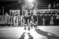 HRD Advent Calendar 13/24: It's Saint Lucy's Day and while Taru may not have a wreath of candles on top of her head she still shines bright. #hrdallstars #helsinkirollerderby #rollerderby #jammer #adventcalendar  #markoniemeläphotography by helsinkirollerderby