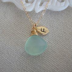 Personalized Birthstone Necklace   gemstone necklace por lizix26