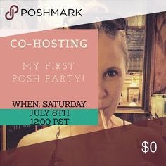 Co-Hosting Posh Party! Best in Jeans party will be Saturday at 12 PST.  comment here if you'd like me to check out your closet for host picks! Accessories