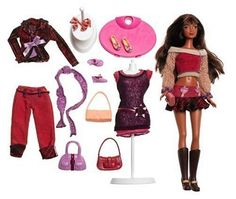 Barbie Fashion Fever - Kayla Fashion Week Giftset by Toys. $29.99. From the Manufacturer                Fashion Fever Fashion Week Giftset combines a cool Fashion Fever doll with other Fashion Fever mini-packs and mannequins based on the same hot fashion trend. There are two giftsets with enough fashions in each for a weeks worth of trendy looks!                                    Product Description                Fashion Week is here, and Kayla doll is ready for the runwa...