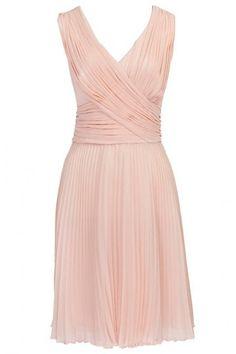 Kaliko Pink Pleated Dress
