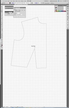 Tien Chiu - Using Illustrator to make a pattern sloper