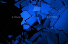 Abstract 3D Rendering Of Cracked Surface by valex113 Abstract 3d rendering of cracked surface. Background with broken shape. Wall destruction. Explosion with debris. Render in JPG for