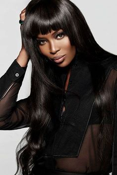 """divalocity: """" One-To-Watch: Naomi Campbell Joins Lee Daniels' Fox Hip-Hop Drama 'Empire' as Camilla, set to debut in early """" Top Models, Black Models, Female Models, Women Models, Beautiful Black Women, Beautiful People, Gisele Bündchen, Klum, Modelos Fashion"""