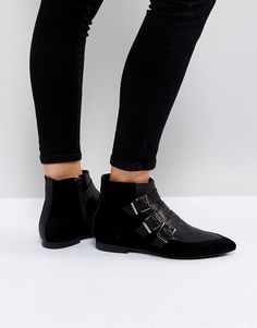 b8a38ec2c77 Discover Fashion Online Buckle Ankle Boots