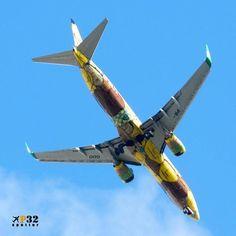 PR-GUO🔸@boeing 737-800 da @voegoloficial chegando do Rio de Janeiro! Pintura especial feita pelos @osgemeos🔸#gol #voegol #boeing #737lovers #737 #osgemeos #planespotting #instagramaviation #instaplane #boeinglovers #aviationlovers #aviationphotography #planeporn #avporn #spotting #instaaviation #instaplanelovers #instalike #tagsforlikes #recife #nordeste #brasil #riodejaneiro #errejota #galeao #photography #photographer #p32 #letsgo 🔸@aviacaonordestina