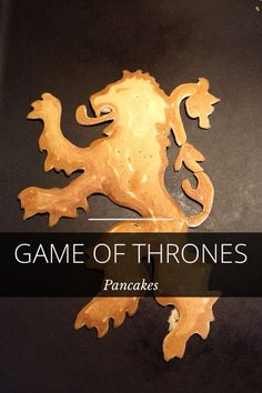 Game of Thrones Pancakes! by Kevin Blankenship on #Steller #got