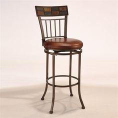 Hillsdale Furniture 4266-8 Montero Swivel Bar Stool