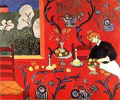Matisse - Harmonie en rouge