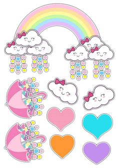 Christmas Gifts For Boyfriend, Diy Christmas Gifts, Rainbow Baby, Rainbow Unicorn, Unicorn Birthday Parties, Unicorn Party, Mulan 3, Cloud Party, Love Rain