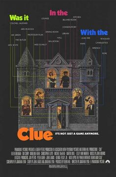 Clue (1985) would want this on a shirt!