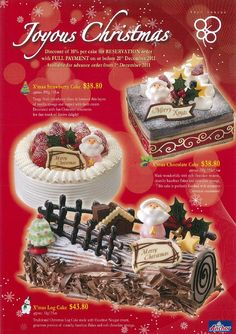 christmas poster cake - Google Search