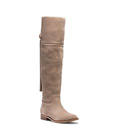 Rhea Suede Over-The-Knee Boot