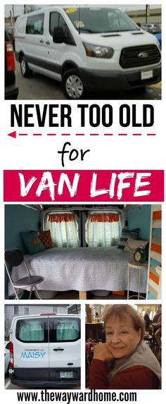 79 Year Old Woman Lives The Van Life In Ford Transit Camper