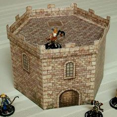Mage Knight Miniature Wargaming Papercraft