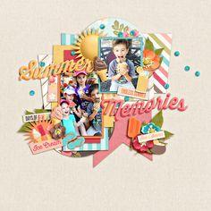 summer memories - Scrapbook.com