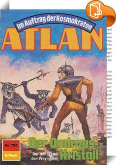 Atlan 729: Der Omirgos-Kristall (Heftroman)    :  Auf Terra schreibt man die Jahreswende 3818/19, als der Arkonide eine plötzliche Ortsversetzung erlebt. Atlans neue Umgebung ist die Galaxis Manam-Turu. Und das Fahrzeug, das dem Arkoniden die Möglichkeit der Fortbewegung im All bietet, ist die STERNSCHNUPPE. Und der neue Begleiter des Arkoniden ist Chipol, der junge Daila. In den sieben Monaten, die inzwischen verstrichen sind, haben die beiden schon manche Gefahr bestanden - immer auf...