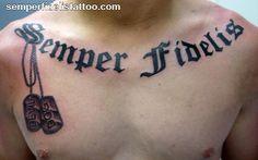 #tattoos #tattoo #usmc #usmarinecorps #unitedstatesmarinecorps #semperfi #semperfidelis #alwaysfaithful #always #faithful #thefewtheproud #marines #proudmarine #dogtags #unclemike #uncle #family #significance #meaning