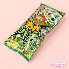 Buy Meiji Watapachi Melon Popping Candy Floss   Free Shipping   Blippo Kawaii Shop