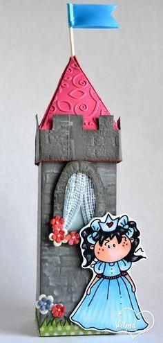 Latinas Arts and Crafts: Interpretaciones Tutorial # 28. Torre Encantada
