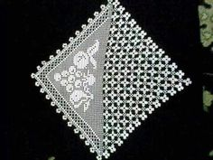 Crochet Lace Edging, Crochet Diagram, Filet Crochet, Crochet Doilies, Crochet Tablecloth, Diy And Crafts, Coasters, Ebay, Center Table