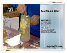 Dr Feridun Kunak'tan Zayıflatan Su Tarifi Challenges, Personal Care, Diet, Bottle, Healthy, Rage, Kitchens, Personal Hygiene, Flask