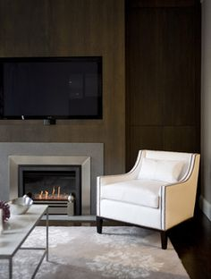 TV Over Fireplace Design Ideas, Pictures, Remodel, and Decor - page 6