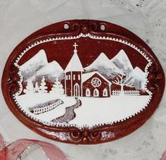 Non Perishable, Plate Holder, Unique Gifts, Handmade Gifts, Winter Scenes, Cookie Decorating, Gingerbread, Holiday, Christmas