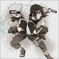 Naruto - Kakashi and Itachi