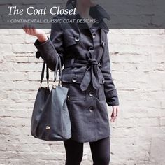 a91a412171b85 CONTINENTAL CLASSIC COAT DESIGNS. Don t be left out in the cold this winter