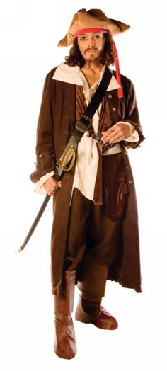Captain Jack Adult Costume