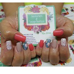 Conócenos, síguenos, compártenos... f/ Sunshine Nails & Lounge Boutique @Diana Leemoon #Uñas #UñasAcrílicas #Nails #SedasEnLasUñas  #NailArt #DianaLeemoon