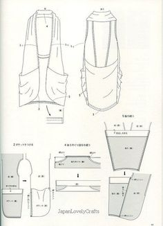 DRAPE DRAPE 2 BY HISAKO SATO - JAPANESE SEWING PATTERN BOOK FOR ELEGANT AND GORGEOUS DRESS, DRESSES 11