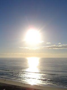 Sunrise at Surfers Paradise QLD Australia. Gorgeous wake up view!