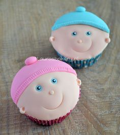 Baby Cupcakes how to
