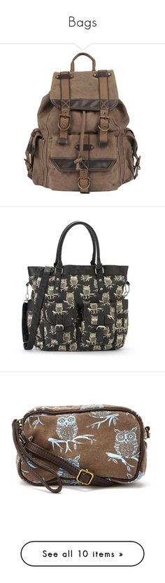 """""""Bags"""" by thedeathlyhallowsalways ❤ liked on Polyvore featuring men's fashion, men's bags, men's backpacks, bags, backpacks, accessories, purses, mochila, mens canvas backpack and handbags"""