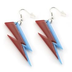 David Bowie Thunderbolt Earrings and more, from the Victoria & Albert Museum's touring Bowie show that's now in Chicago.
