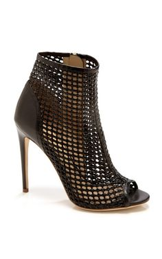 Juda Woven Booties by Jerome Rosseau Shoe Obsession |2013 Fashion High Heels|