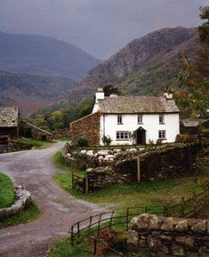 Yew Tree Farm (Hill Top in Miss Potter), Coniston, Lake District NP, Cumbria. Beatrix Potter's home in the 1930s.